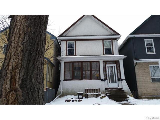 Main Photo: 580 Mulvey Avenue in WINNIPEG: Fort Rouge / Crescentwood / Riverview Residential for sale (South Winnipeg)  : MLS®# 1530615