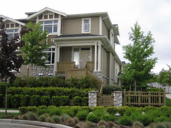 """Main Photo: 857 W 59TH Avenue in Vancouver: South Cambie Townhouse for sale in """"CHURCHILL GARDENS"""" (Vancouver West)  : MLS®# R2110053"""