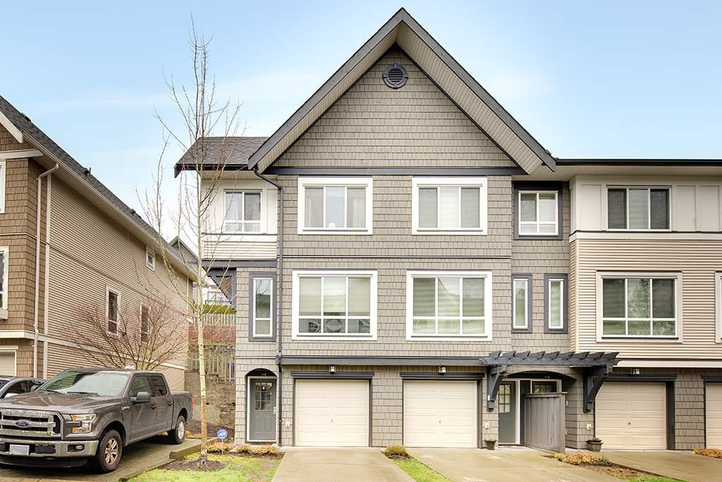 "Main Photo: 31 1295 SOBALL Street in Coquitlam: Burke Mountain Townhouse for sale in ""TYNERIDGE SOUTH"" : MLS®# R2237587"