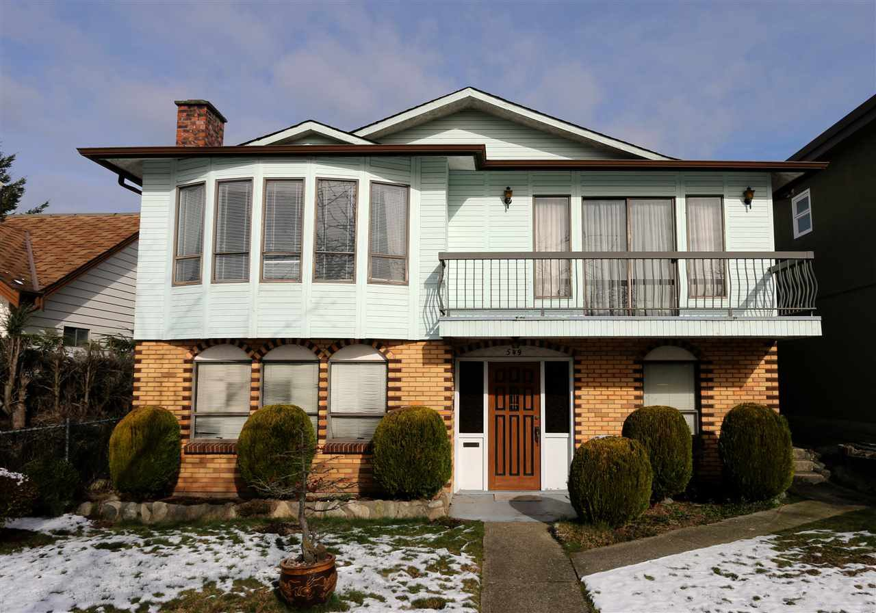 Main Photo: 549 E 52ND Avenue in Vancouver: South Vancouver House for sale (Vancouver East)  : MLS®# R2242443