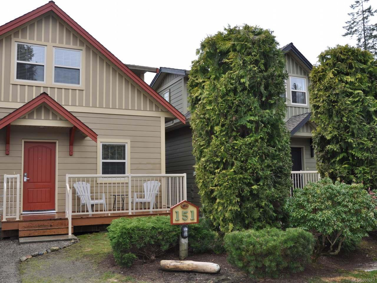 Main Photo: 151 1080 RESORT DRIVE in PARKSVILLE: PQ Parksville Row/Townhouse for sale (Parksville/Qualicum)  : MLS®# 809247