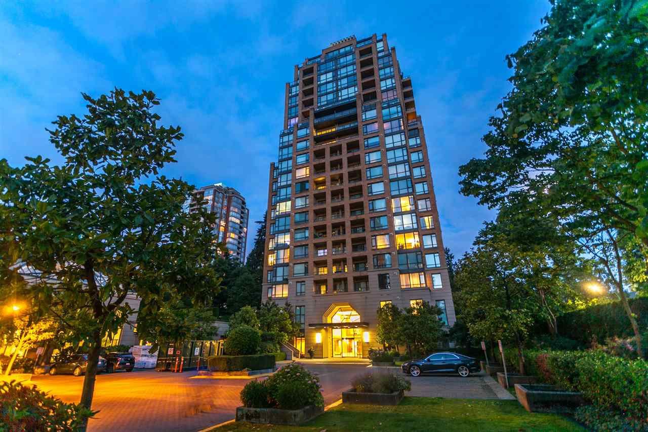 "Main Photo: 2003 7388 SANDBORNE Avenue in Burnaby: South Slope Condo for sale in ""Mayfair Place"" (Burnaby South)  : MLS®# R2380686"