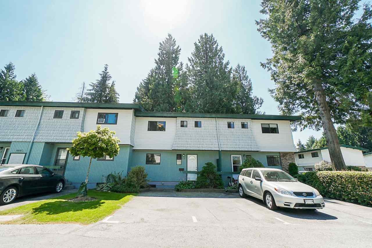 "Main Photo: 11 10892 152 Street in Surrey: Bolivar Heights Townhouse for sale in ""WOODRIDGE"" (North Surrey)  : MLS®# R2481743"