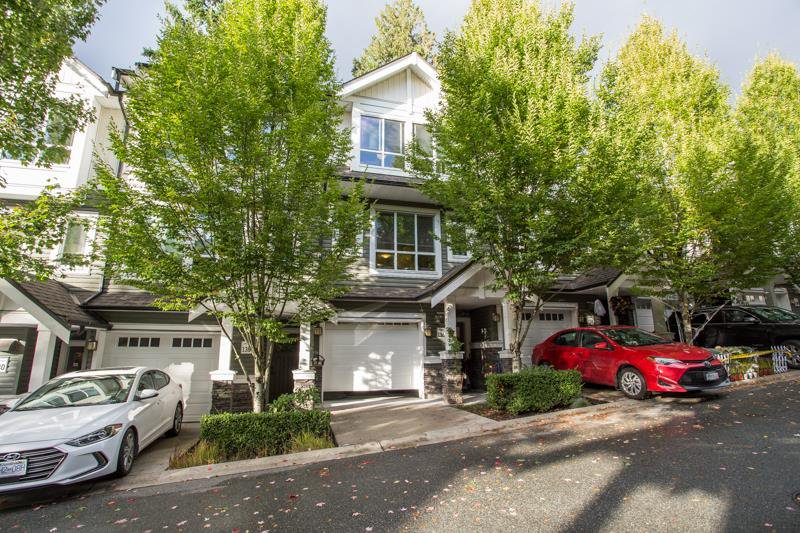 "Main Photo: 136 1460 SOUTHVIEW Street in Coquitlam: Burke Mountain Townhouse for sale in ""Cedar Creek"" : MLS®# R2509043"