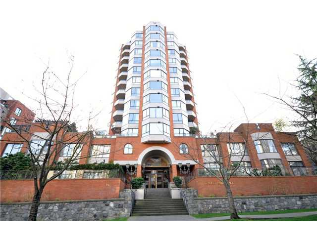 Main Photo: 703 1860 Robson Street in Vancouver: West End VW Condo for sale (West Vancouver)  : MLS®# V934746