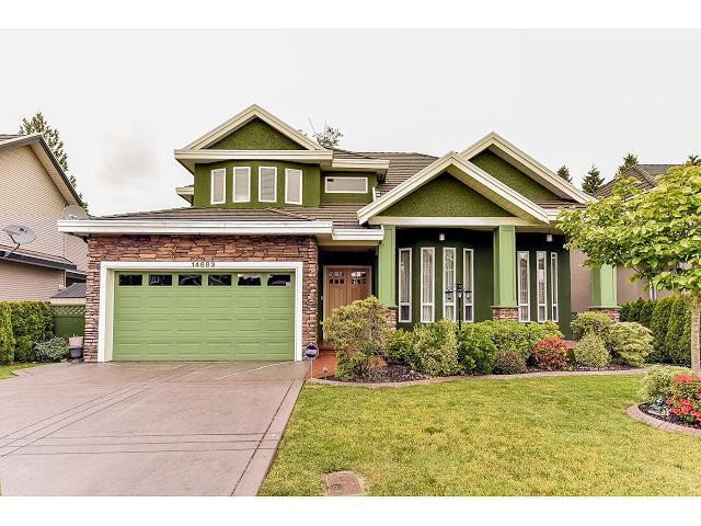 Main Photo: 14883 76A Avenue in Surrey: East Newton House for sale : MLS®# F1441312