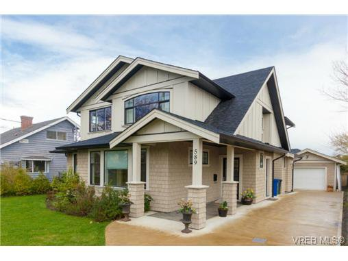 Main Photo: 589 Hampshire Rd in VICTORIA: OB South Oak Bay Single Family Detached for sale (Oak Bay)  : MLS®# 722882
