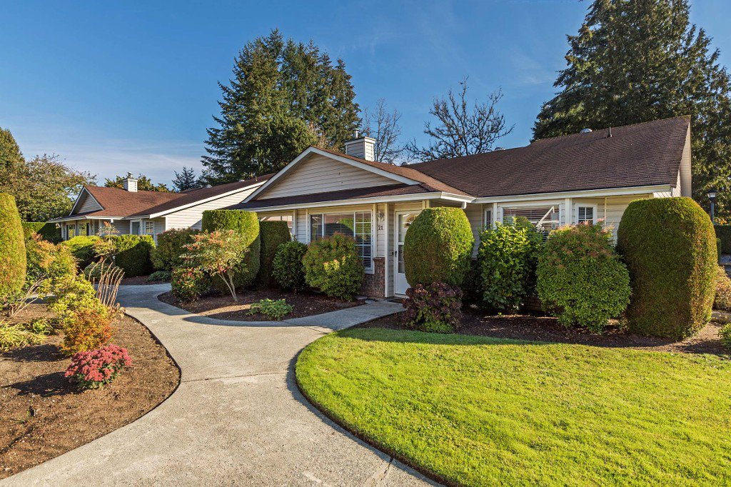 Main Photo: 21 19249 HAMMOND Road in Pitt Meadows: Central Meadows Townhouse for sale : MLS®# R2116453