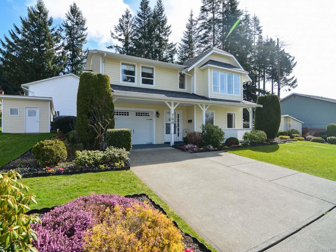 Main Photo: 760 Highwood Dr in COMOX: CV Comox (Town of) House for sale (Comox Valley)  : MLS®# 752157