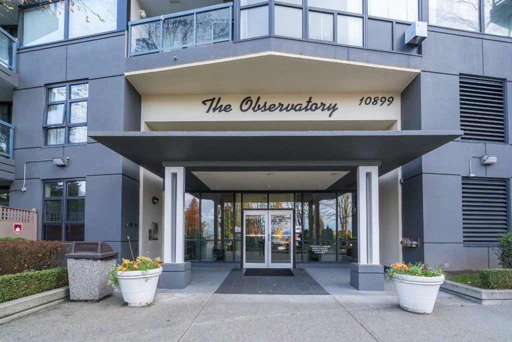 "Main Photo: 1107 10899 UNIVERSITY Drive in Surrey: Whalley Condo for sale in ""Observatory"" (North Surrey)  : MLS®# R2218744"