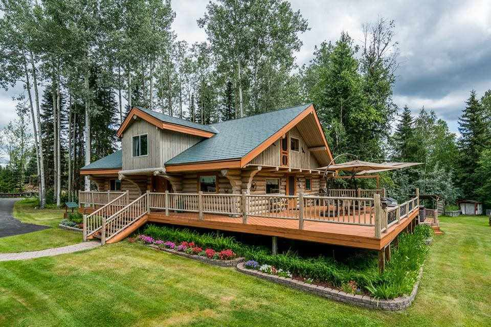 Main Photo: 4985 MEADOWLARK Road in Prince George: Hobby Ranches House for sale (PG Rural North (Zone 76))  : MLS®# R2292940