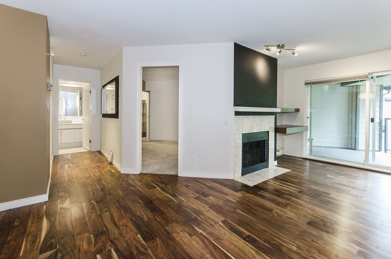 """Main Photo: 421 6707 SOUTHPOINT Drive in Burnaby: South Slope Condo for sale in """"MISSION WOODS"""" (Burnaby South)  : MLS®# R2348752"""