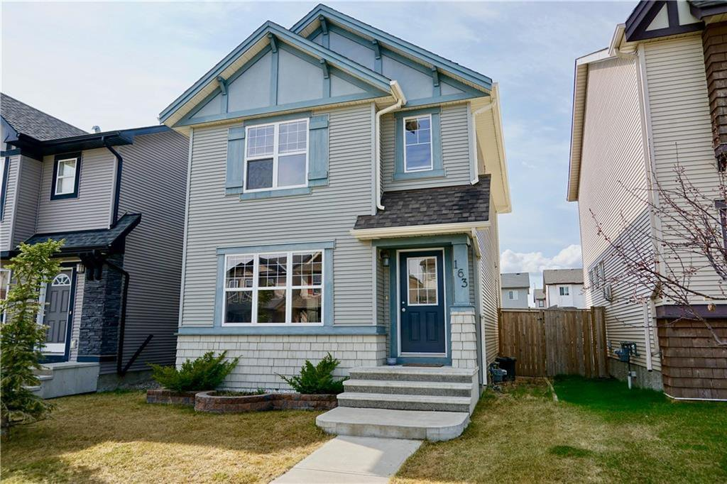 Main Photo: 163 SILVERADO PLAINS Circle SW in Calgary: Silverado Detached for sale : MLS®# C4243826