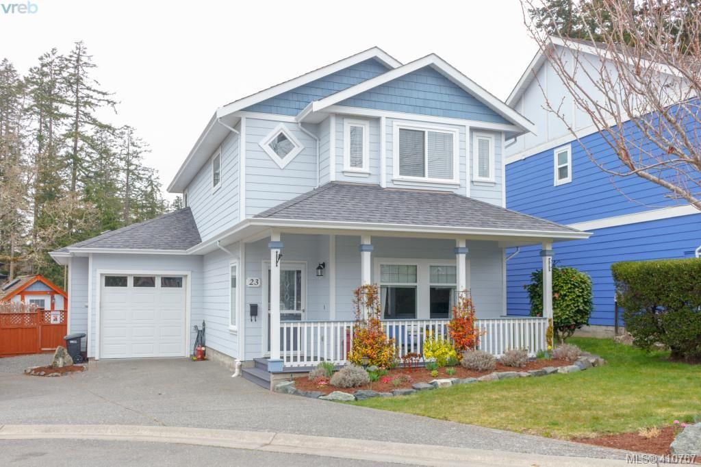 Main Photo: 23 Newstead Crescent in VICTORIA: VR Hospital Single Family Detached for sale (View Royal)  : MLS®# 410767