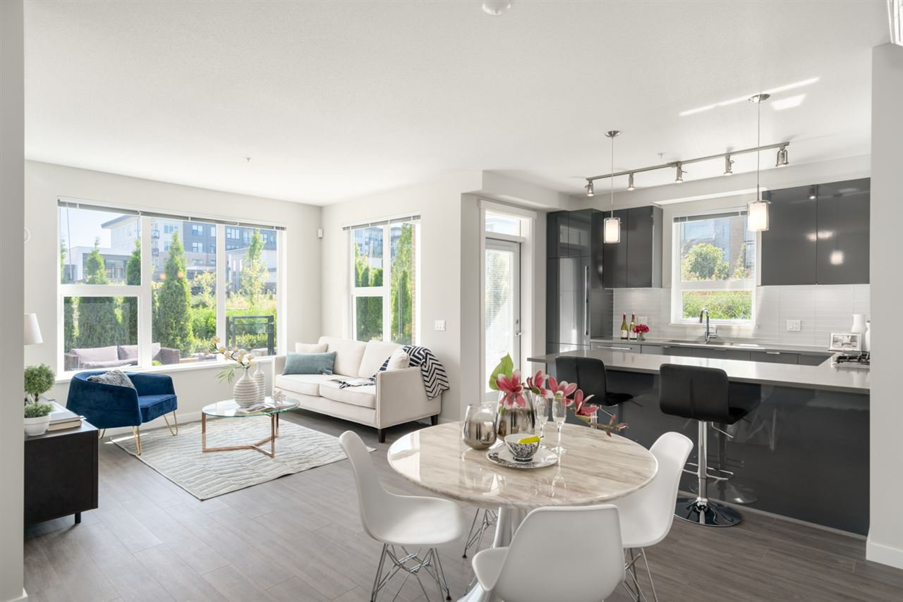 """Main Photo: 103 9388 TOMICKI Avenue in Richmond: West Cambie Condo for sale in """"ALEXANDRA COURT"""" : MLS®# R2485210"""