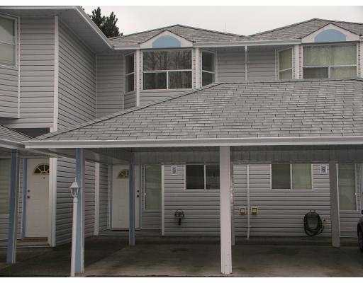 "Main Photo: 5 1406 BRUNETTE AV in Coquitlam: Maillardville Townhouse for sale in ""PLACE D'HERITAGE"" : MLS®# V582461"