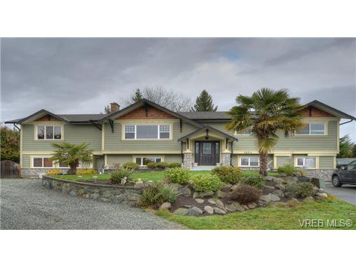 Main Photo: 1864 Rye Place in SAANICHTON: CS Saanichton Single Family Detached for sale (Central Saanich)  : MLS®# 340378
