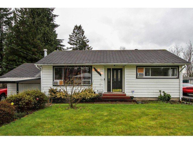 """Main Photo: 22078 CLIFF Avenue in Maple Ridge: West Central House for sale in """"WEST CENTRAL"""" : MLS®# V1103896"""