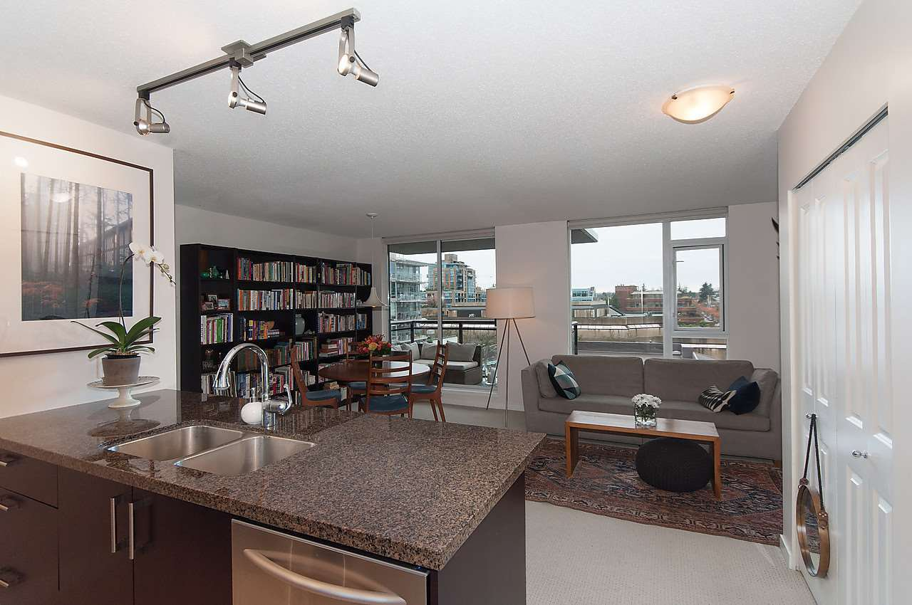"Main Photo: 704 1650 W 7TH Avenue in Vancouver: Fairview VW Condo for sale in ""VIRTU"" (Vancouver West)  : MLS®# R2015471"