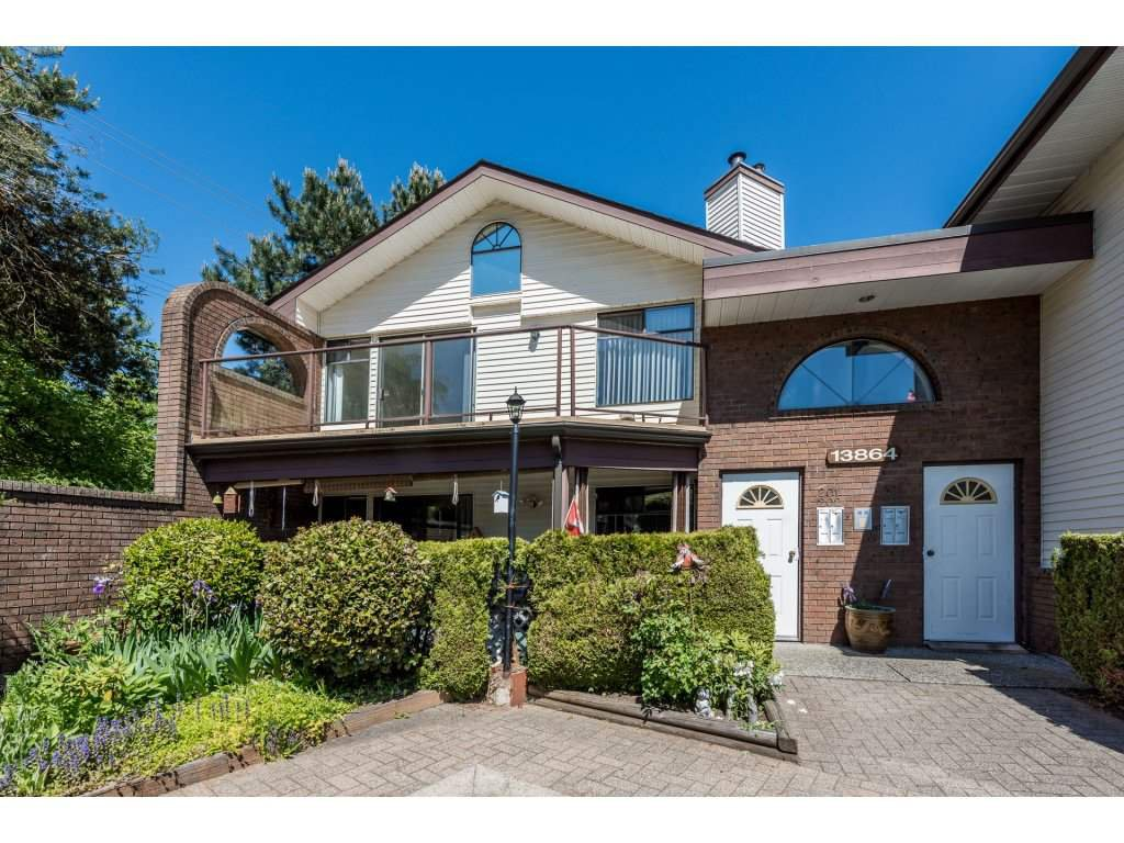 "Main Photo: 201 13864 102ND Avenue in Surrey: Whalley Townhouse for sale in ""GLENDALE VILLAGE"" (North Surrey)  : MLS®# R2170695"