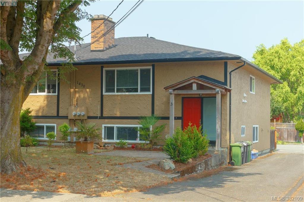 Main Photo: 3 1430 Walnut St in VICTORIA: Vi Fernwood Half Duplex for sale (Victoria)  : MLS®# 767681