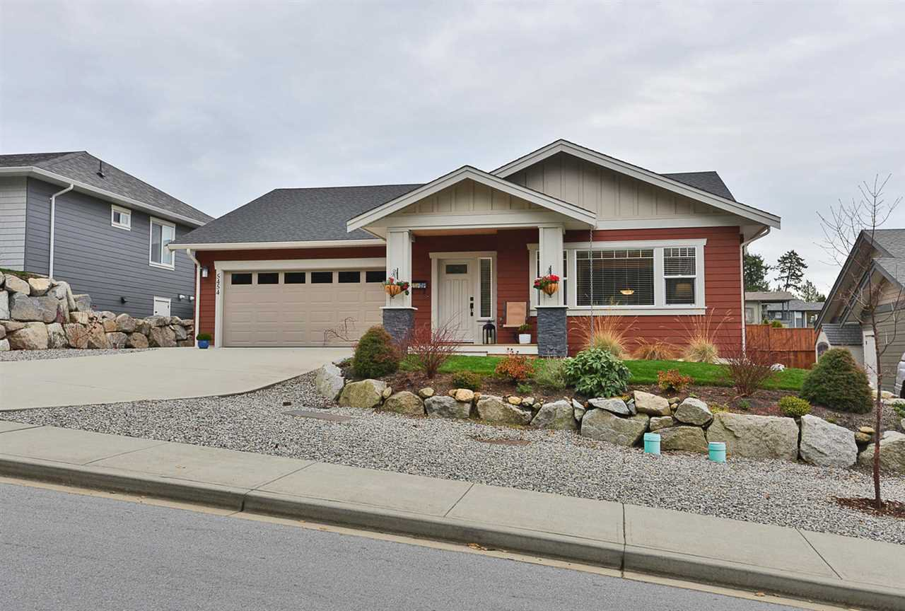 Craftsman style one level rancher in sunny West Sechelt