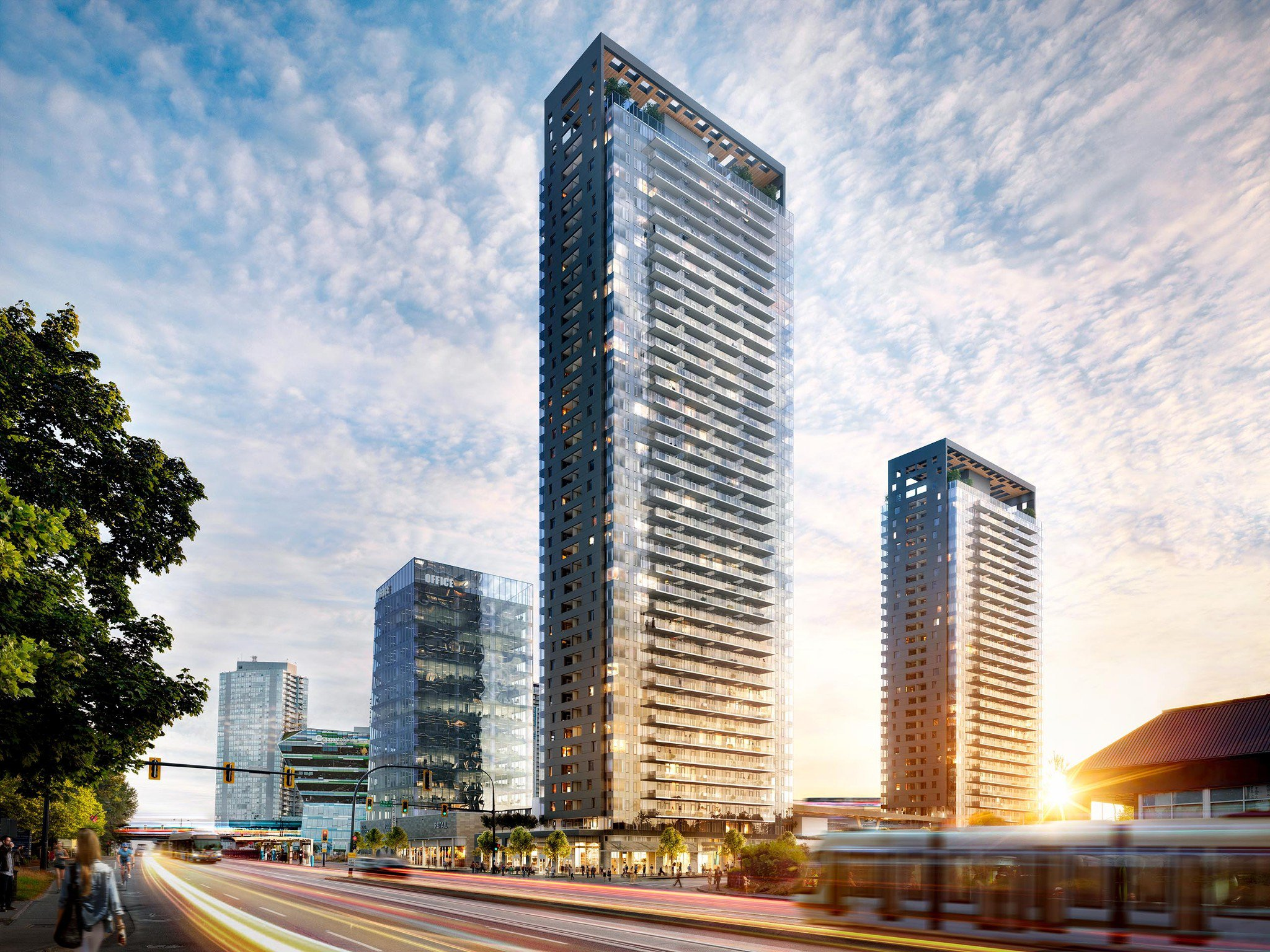 Main Photo: #803 at KING GEORGE HUB by PCI in : Surrey City Centre Condo for sale (Surrey)