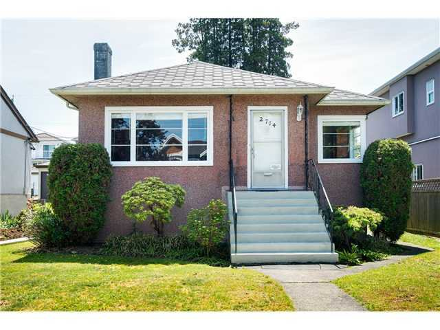 Main Photo: 2714 3RD Ave E in Vancouver East: Renfrew VE Home for sale ()  : MLS®# V1127562