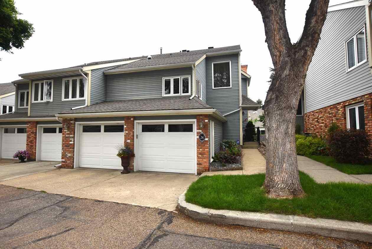 Photo 1: Photos: 26 WHITEOAKS Estates: St. Albert Townhouse for sale : MLS®# E4183337