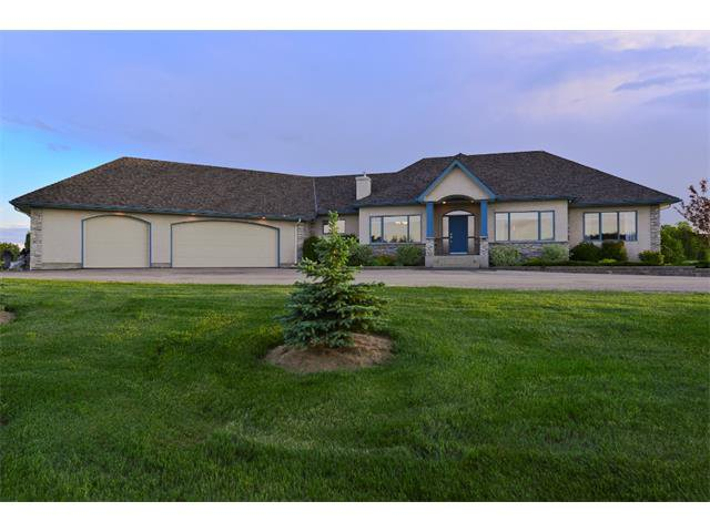 Photo 1: Photos: 234 CHURCH RANCHES Way in Rural Rockyview County: Rural Rocky View MD House for sale : MLS®# C4016566