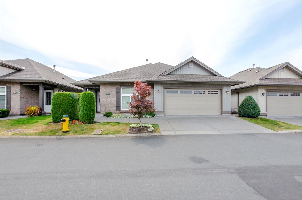Main Photo: 23 45752 STEVENSON Road in Chilliwack: Sardis East Vedder Rd House for sale (Sardis)  : MLS®# R2104703