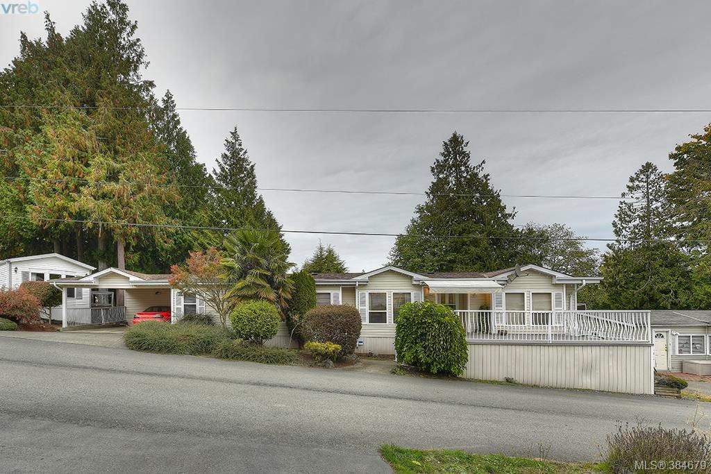 Main Photo: 508 2850 Stautw Rd in SAANICHTON: CS Hawthorne Manufactured Home for sale (Central Saanich)  : MLS®# 773209