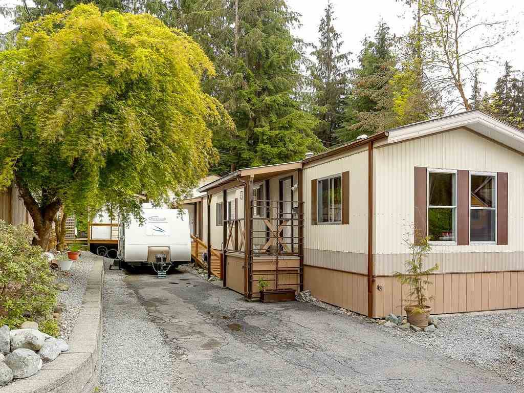 "Main Photo: 48 3295 SUNNYSIDE Road: Anmore Manufactured Home for sale in ""COUNTRYSIDE ESTATES"" (Port Moody)  : MLS®# R2229877"