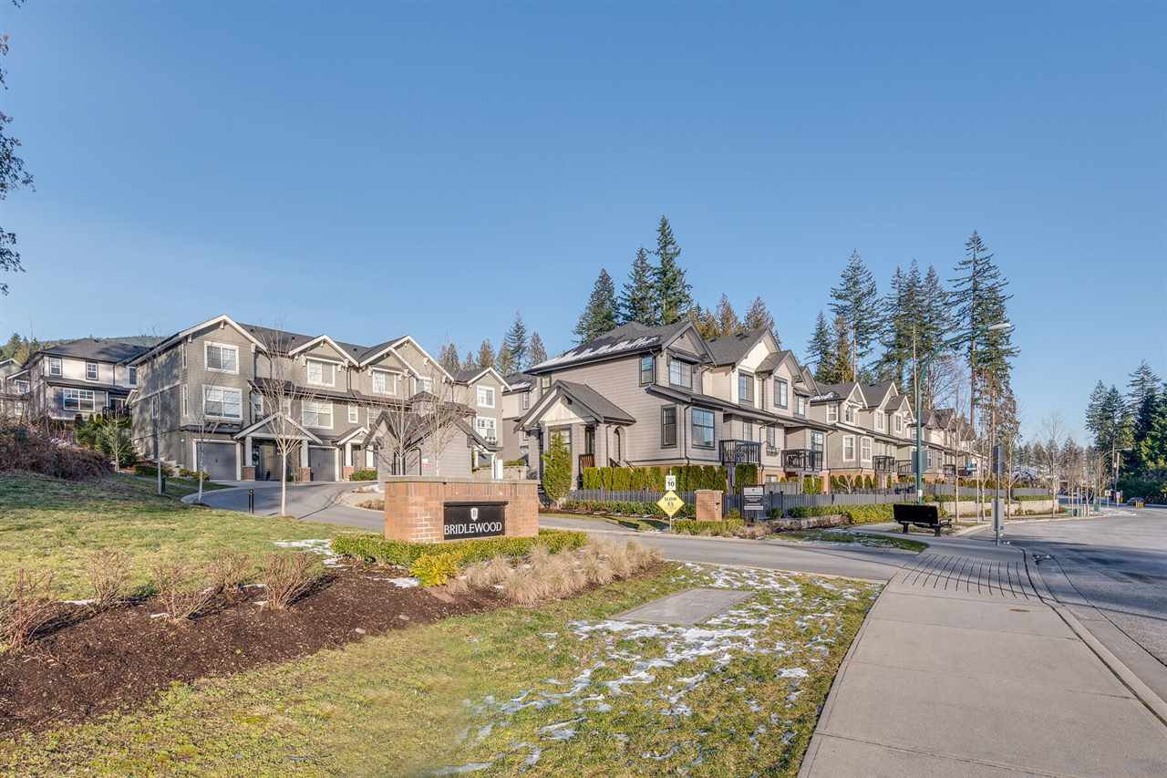 """Main Photo: 19 3461 PRINCETON Avenue in Coquitlam: Burke Mountain Townhouse for sale in """"BRIDLEWOOD"""" : MLS®# R2332320"""