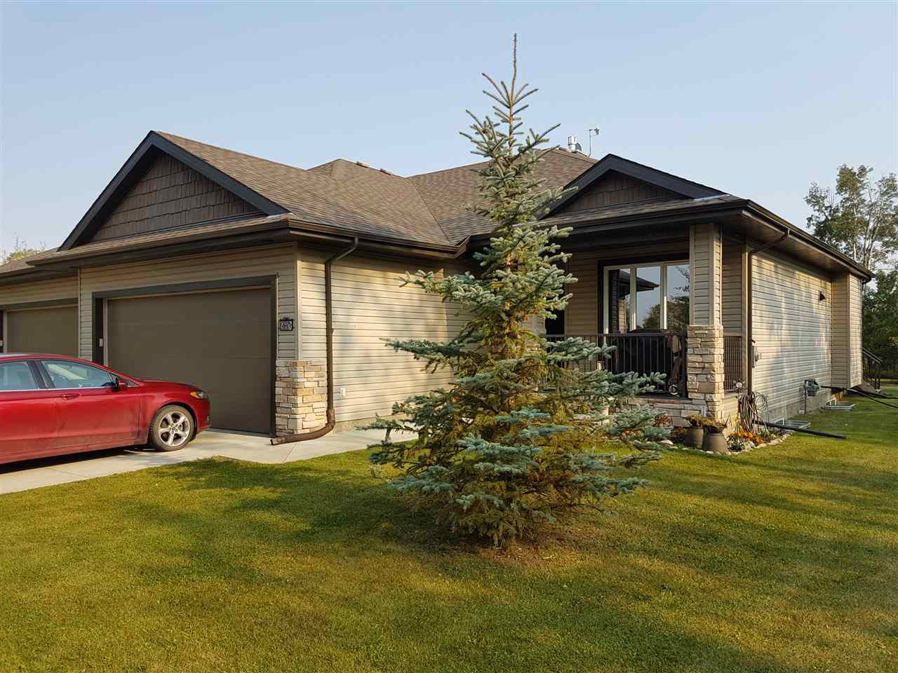 Main Photo: 23A 53521 RGE RD 272: Rural Parkland County House Half Duplex for sale : MLS®# E4143092