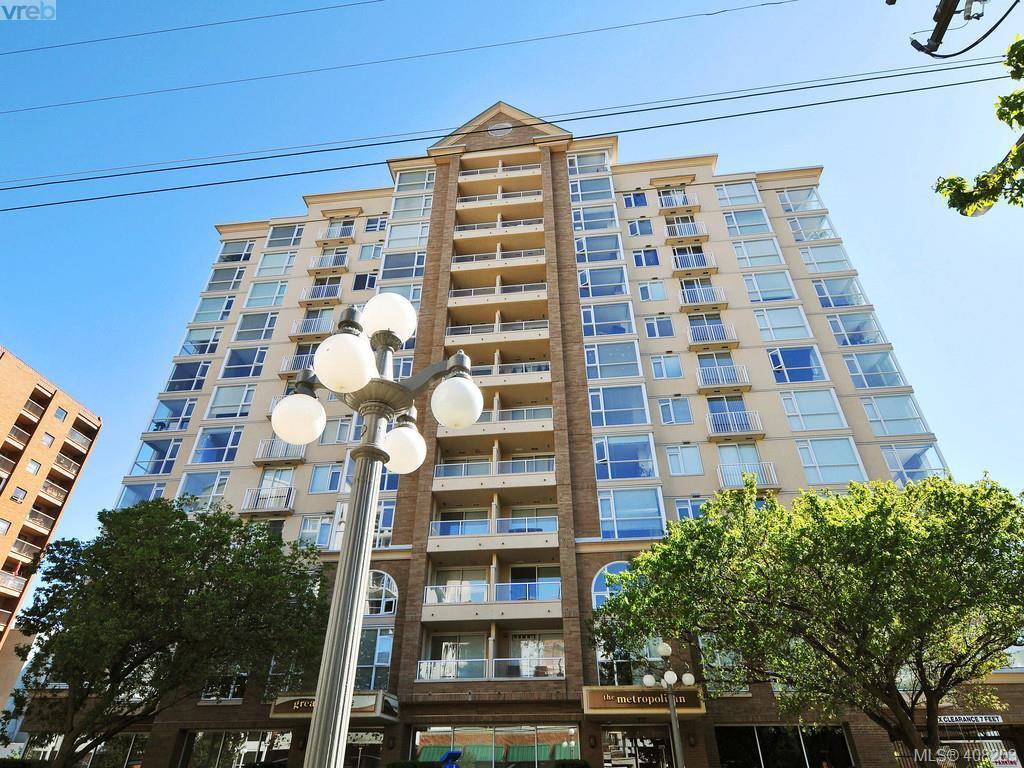 Main Photo: 403 835 View St in VICTORIA: Vi Downtown Condo Apartment for sale (Victoria)  : MLS®# 811207