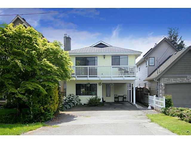 Main Photo: 3520 RICHMOND Street in Richmond: Steveston Villlage House for sale : MLS®# V1064163