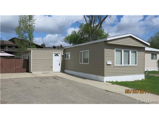 Photo 2: Photos: 123 219 Grant Street in Saskatoon: Forest Grove Mobile (Rented Lot) for sale (Saskatoon Area 01)  : MLS®# 499637