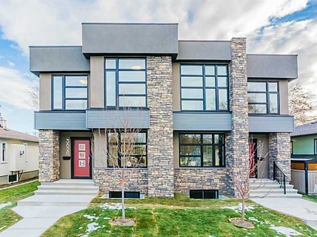 Main Photo: 3826 1 Street NW in Calgary: Highland Park Residential Attached for sale : MLS®# C3645013