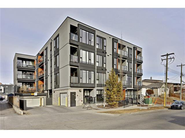 Main Photo: 105 414 MEREDITH Road NE in Calgary: Crescent Heights Condo for sale : MLS®# C4050218