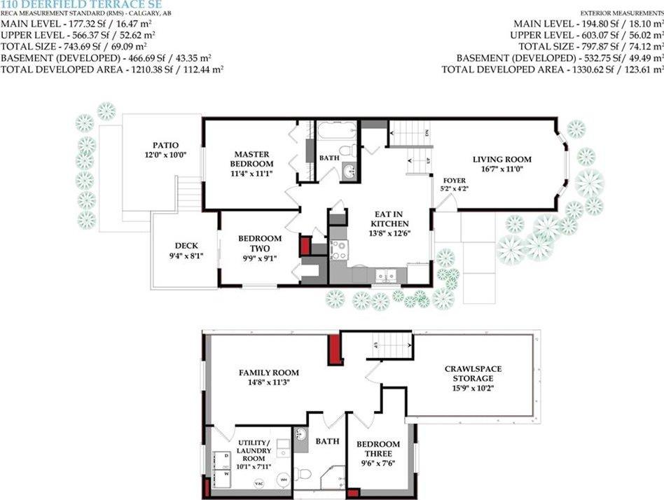 Photo 28: Photos: 110 DEERFIELD Terrace SE in Calgary: Deer Ridge House for sale : MLS®# C4123944