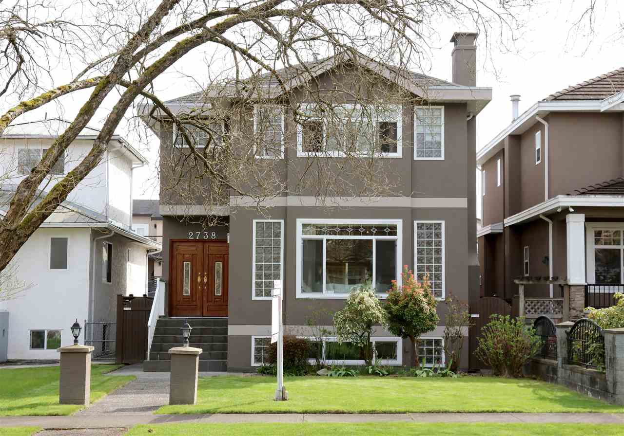 Main Photo: 2738 W 19TH Avenue in Vancouver: Arbutus House for sale (Vancouver West)  : MLS®# R2259490