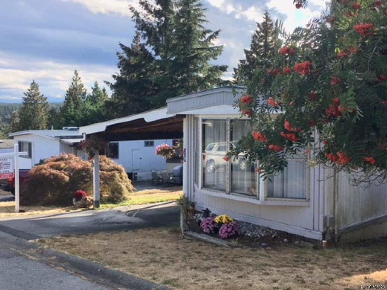 Main Photo: 60 1160 Shellbourne Blvd in CAMPBELL RIVER: CR Campbell River Central Manufactured Home for sale (Campbell River)  : MLS®# 795920