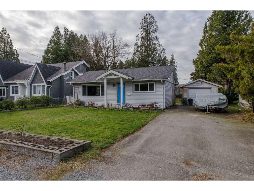 Main Photo: 4347 CYPRESS Street: Yarrow House for sale : MLS®# R2333075