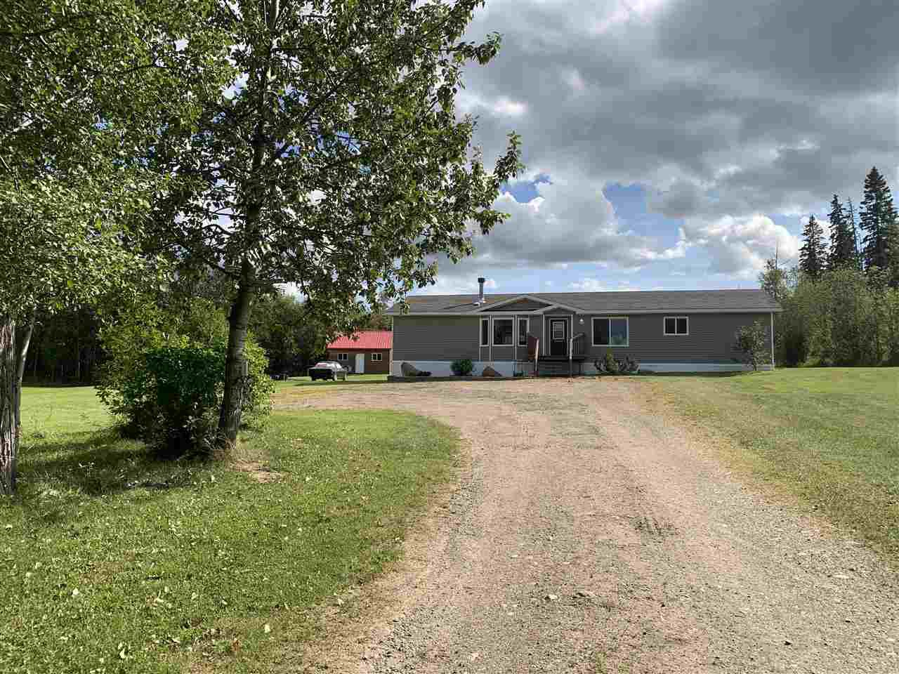 Main Photo: 14603 RED CREEK Road in Fort St. John: Fort St. John - Rural W 100th Manufactured Home for sale (Fort St. John (Zone 60))  : MLS®# R2485688