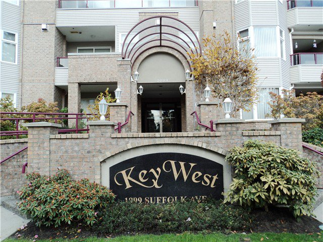 "Main Photo: # 309 1999 SUFFOLK AV in Port Coquitlam: Glenwood PQ Condo for sale in ""KEY WEST"" : MLS®# V1035880"