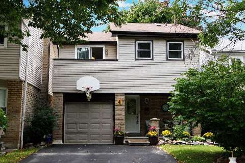 Main Photo: 4 Graham Crt in Whitby: Pringle Creek House (2-Storey) for sale