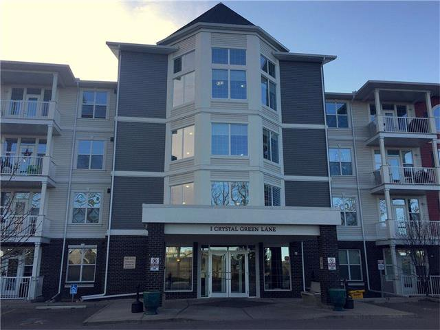 Main Photo: 311 1 CRYSTAL GREEN Lane: Okotoks Condo for sale : MLS®# C4090546