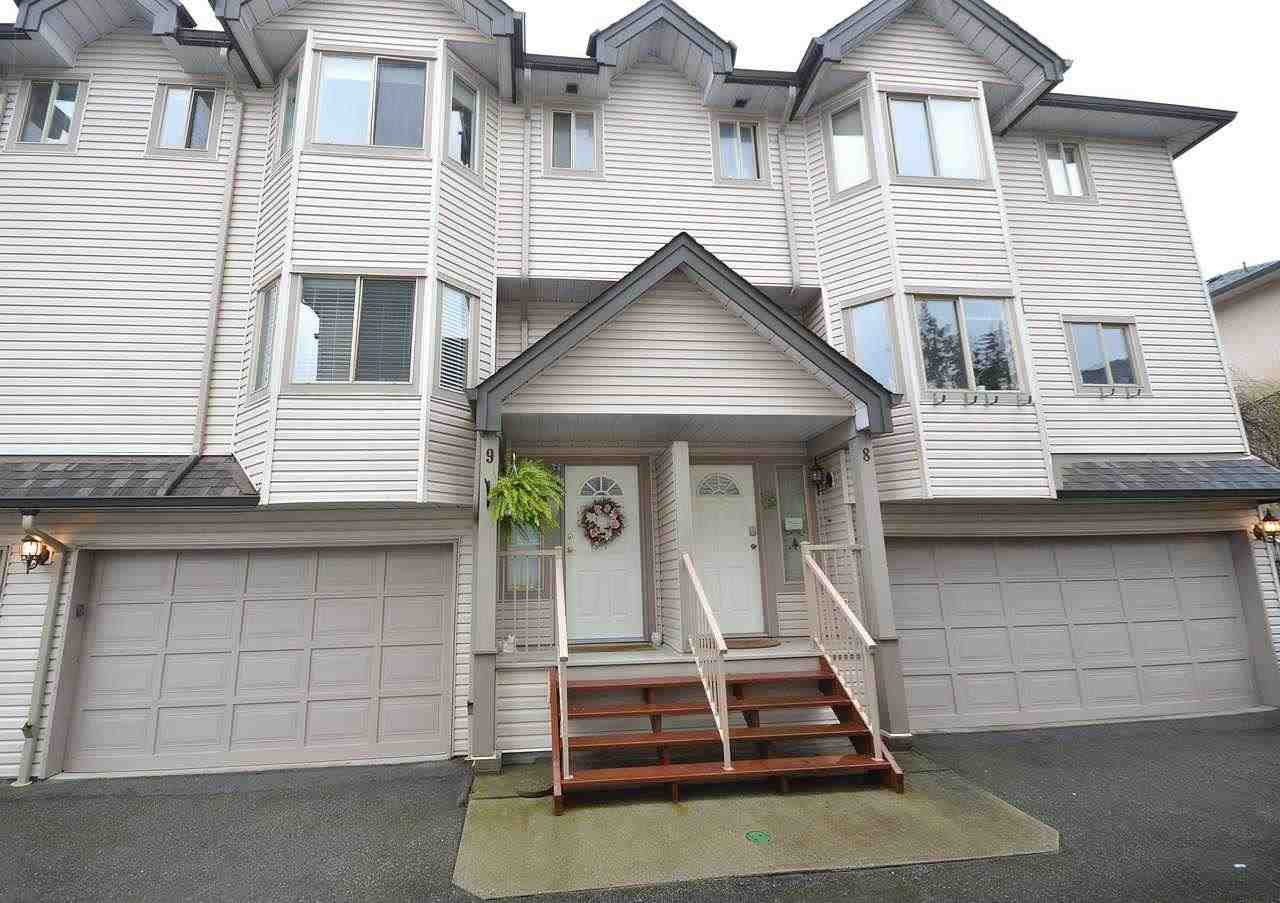 """Main Photo: 9 2420 PITT RIVER Road in Port Coquitlam: Mary Hill Townhouse for sale in """"PARKSIDE ESTATES"""" : MLS®# R2257573"""
