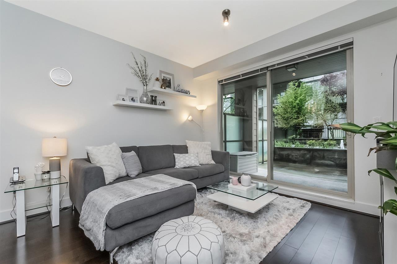Main Photo: 110 7428 BYRNEPARK WALK in Burnaby: South Slope Condo for sale (Burnaby South)  : MLS®# R2262212